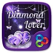 Diamond Lover Go Launcher Theme
