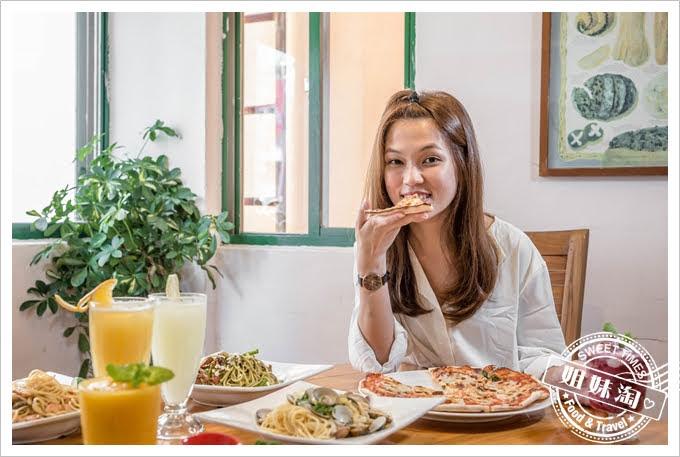 Amy's Cucina阿美披薩店瑪格麗特披薩