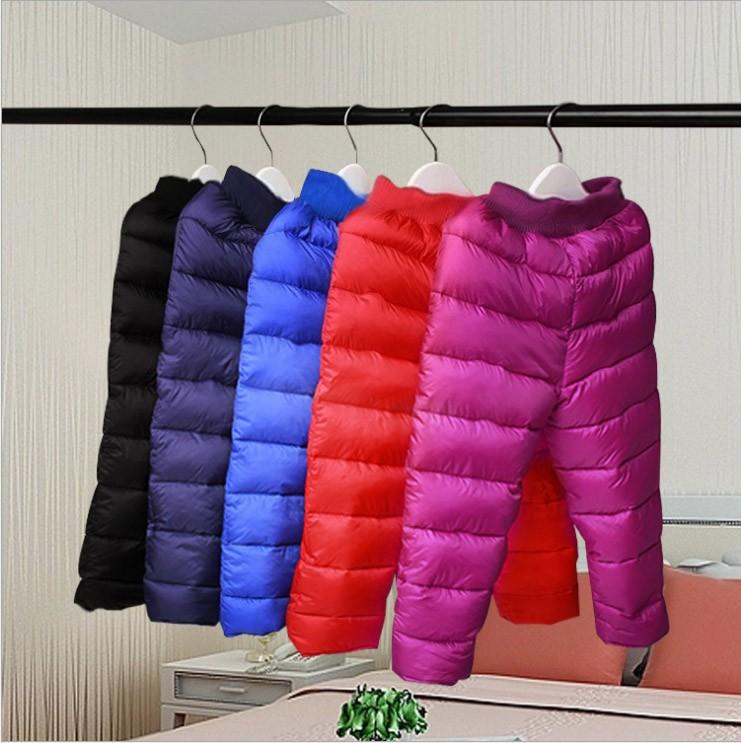 Spodnie śniegowce dla dzieci