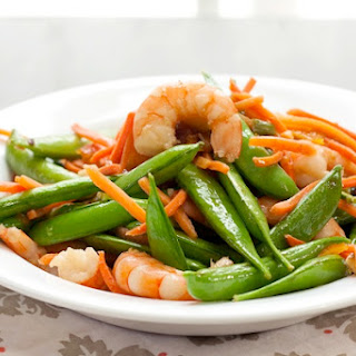 Marmalade-Glazed Shrimp Stir Fry