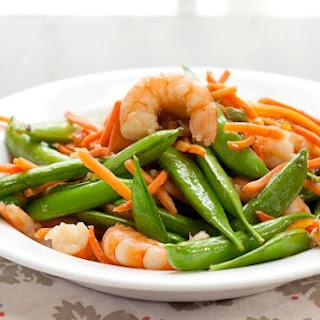Marmalade-Glazed Shrimp Stir Fry.