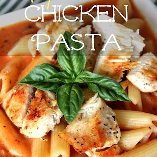 Spicy Chicken Pasta.