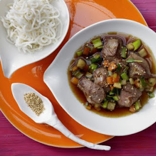 Asian Duck with Vegetables.