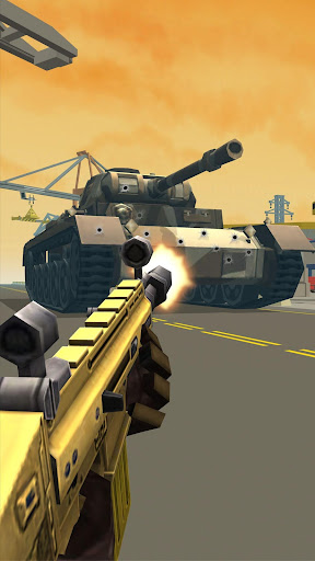 Shooting Escape Road - Gun Games  captures d'écran 2