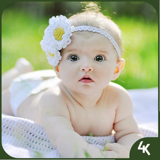 Cute Baby Wallpaper (4k) (app)