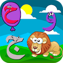 تعليم الحروف العربية والاشكال والالوان icon