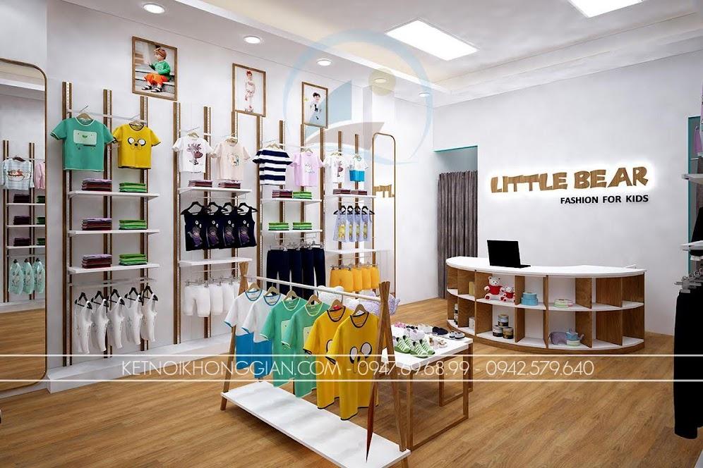 thiết kế shop thời trang trẻ em 8
