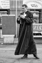 Photo: FullFrame (FX) Priest...  #street #streettogs #streetphotography #shootthestreet #blackandwhite #bw #monochrome