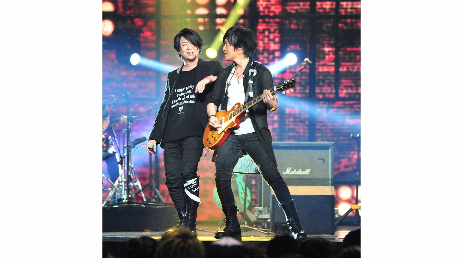 GLAY與五月天夢幻共演<誘惑> 宣佈明年三月登上台北小巨蛋