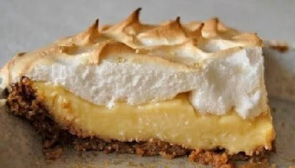 Graham Cracker Cream Pie Recipe