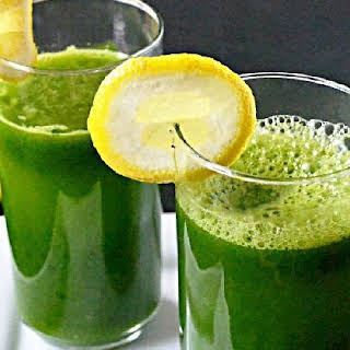 Pineapple Kale Cucumber Drink.