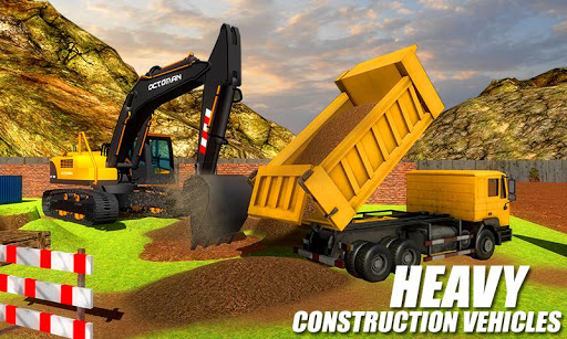 Heavy Excavator Crane - City Construction Sim 2017  screenshots 3