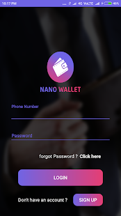Nano Wallet - náhled