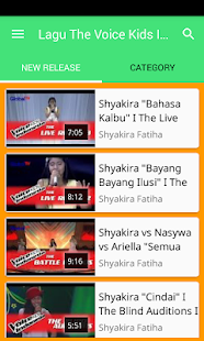 Lagu The Voice Kids Indonesia 2017 - náhled