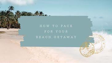 Beach Getaway - YouTube Thumbnail Template