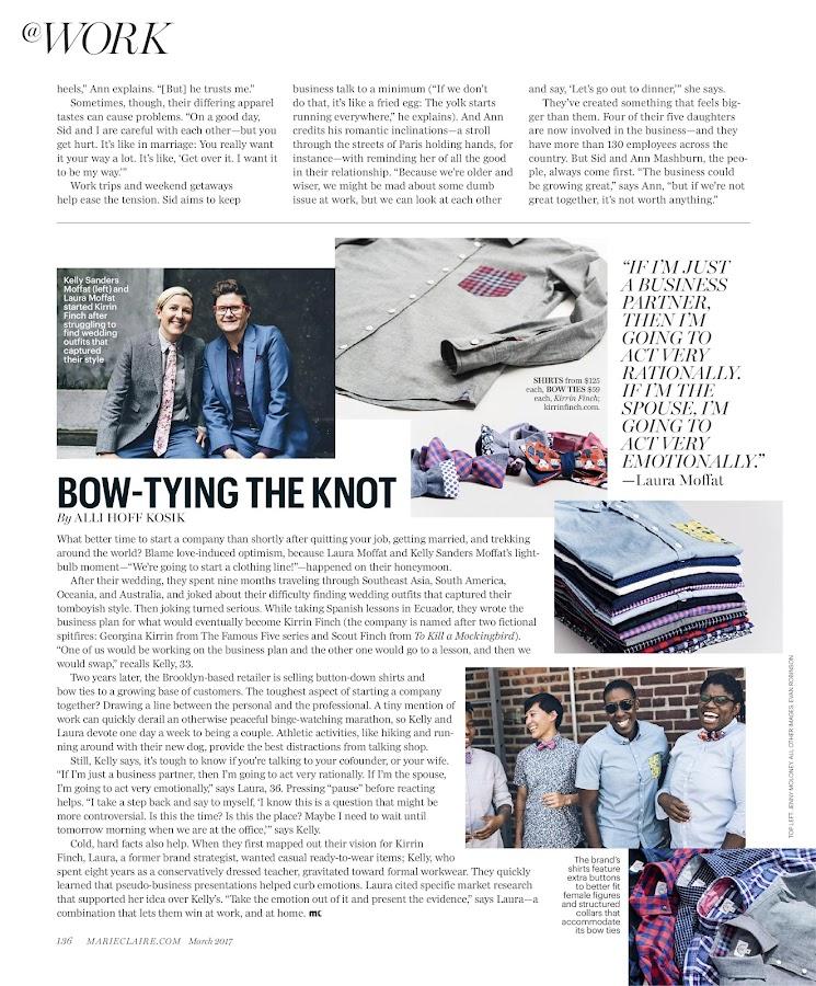 Marie Claire Magazine- screenshot