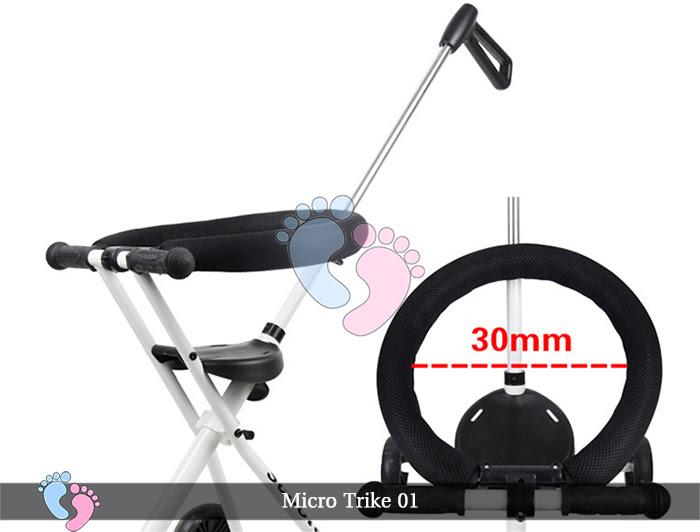 Xe đẩy siêu nhẹ Micro Trike 01 1