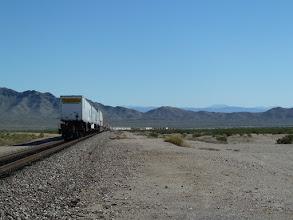 Photo: longueur du train : 2 km env.