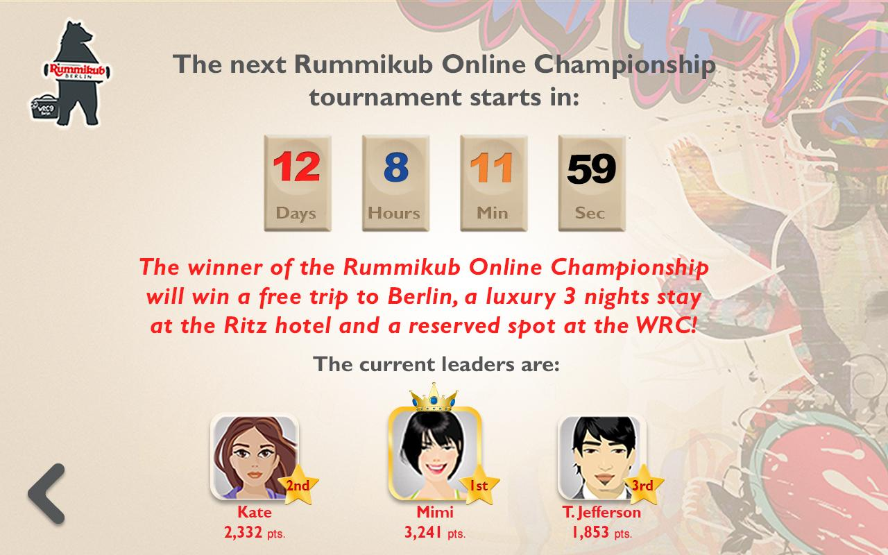 Rummikub- screenshot