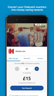Tesco Clubcard: collect points and spend vouchers - náhled