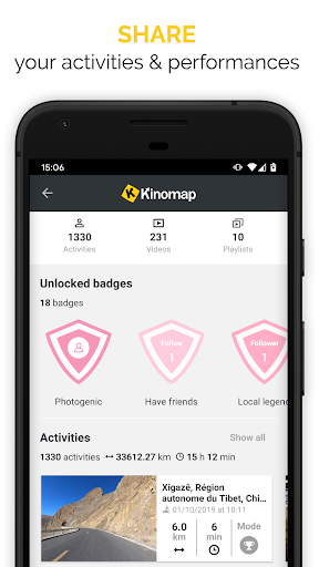 Kinomap - Indoor training videos screenshots 4