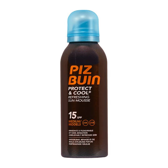 Piz Buin Protect&Cool Mousse Parf SPF15 150ml