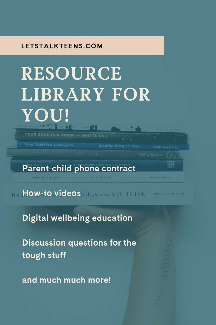 Free parent & youth workers resource library