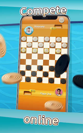 Checkers - Draughts Multiplayer Board Game screenshots 8