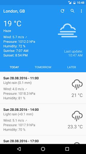 Forecastie - Weather app 1.10.2 Screenshots 1