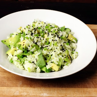 Garlic Coconut Resistant Starch Avocado Rice