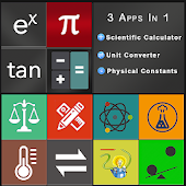 Scientific Calculator with Unit Converter.