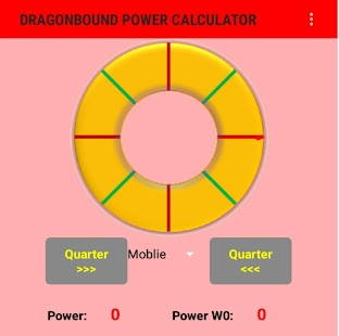 Dragonbound Power Calculator - náhled