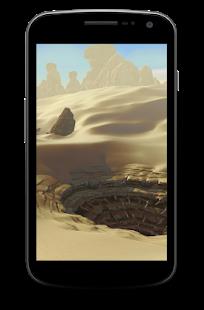 Tatooine Desert Wallpaper screenshot