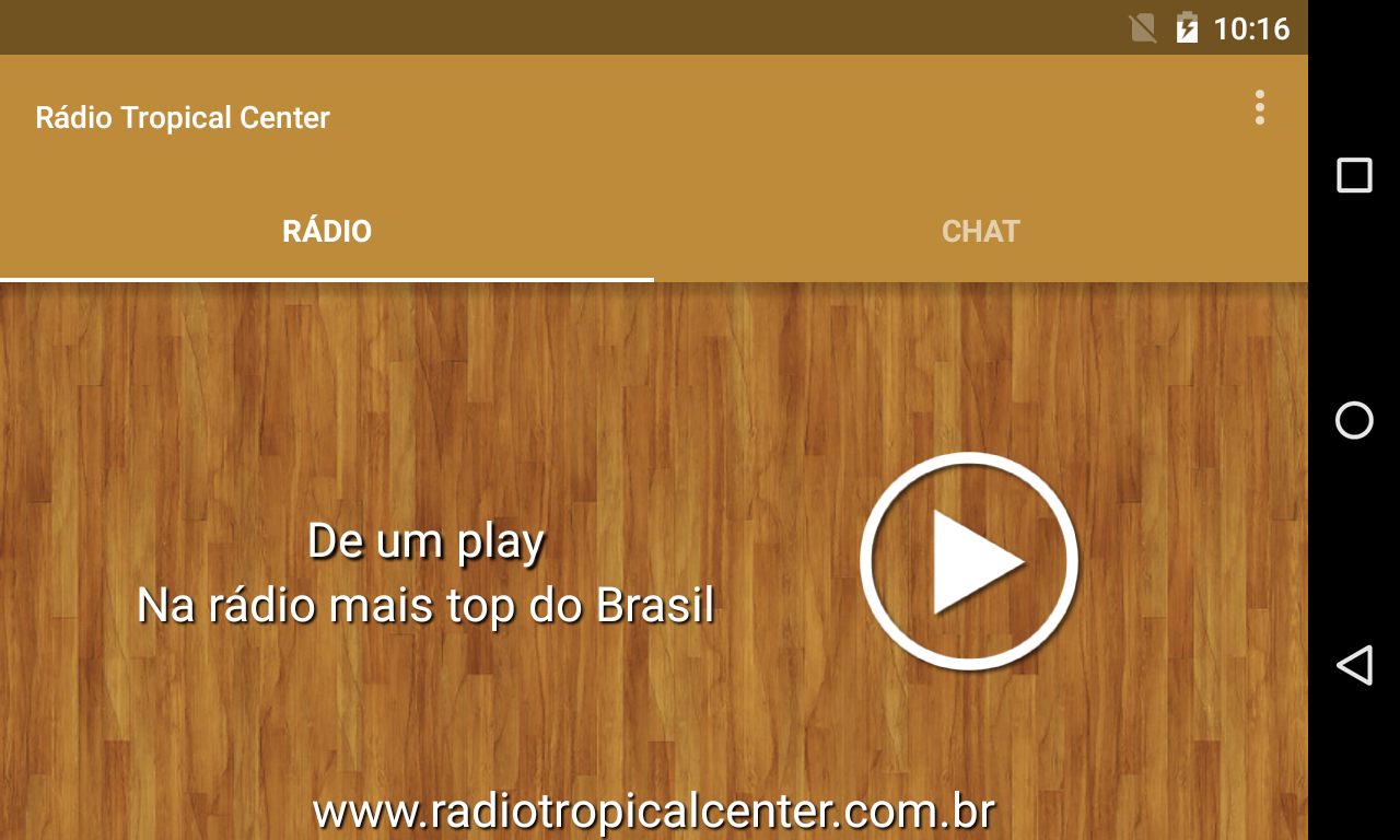 Rádio Tropical Center- screenshot