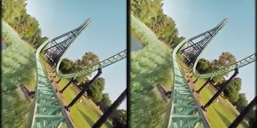 VR Thrills: Roller Coaster 360 (Google Cardboard) APK screenshot thumbnail 7