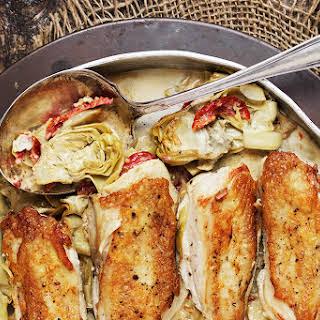 Chicken Artichoke Sun Dried Tomatoes Recipes.
