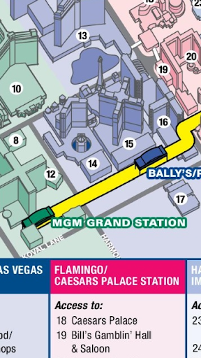 Las Vegas Monorail Map APK