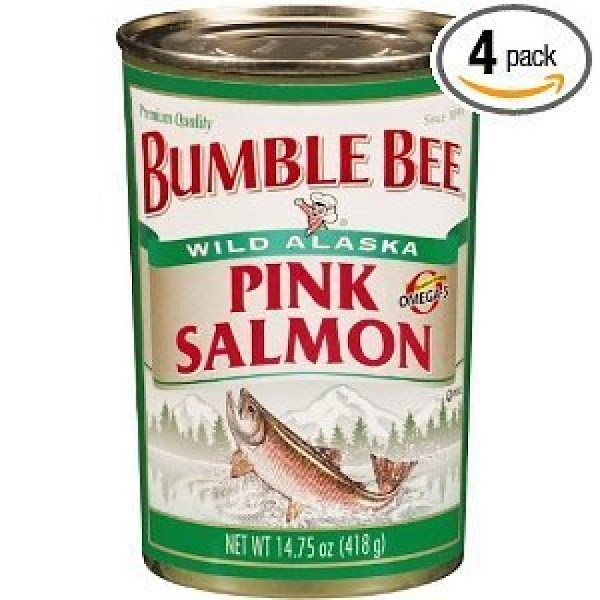 drain liquid from salmon and break it up in the bowl .