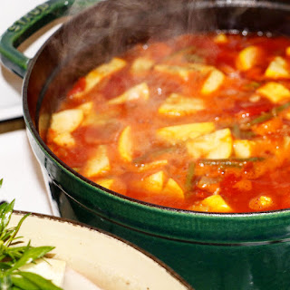 Late Summer Harvest Veggie Soup