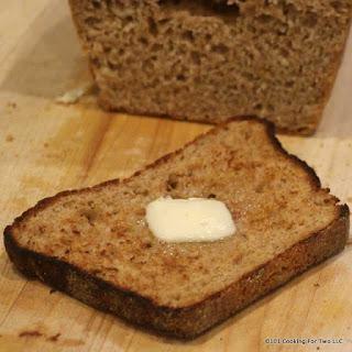 Honey Whole Wheat English Muffin Bread