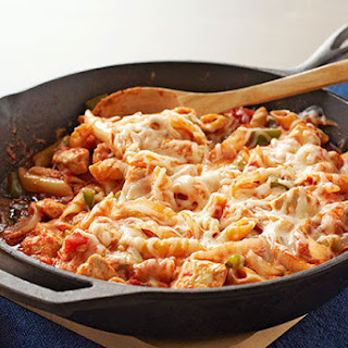 Italian Chicken-Pasta Skillet