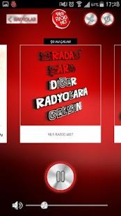 Radio Net Player - náhled
