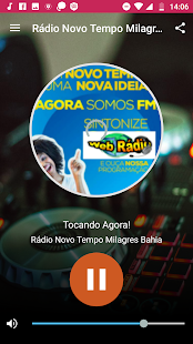 Rádio Novo Tempo FM Milagres Bahia for PC-Windows 7,8,10 and Mac apk screenshot 1
