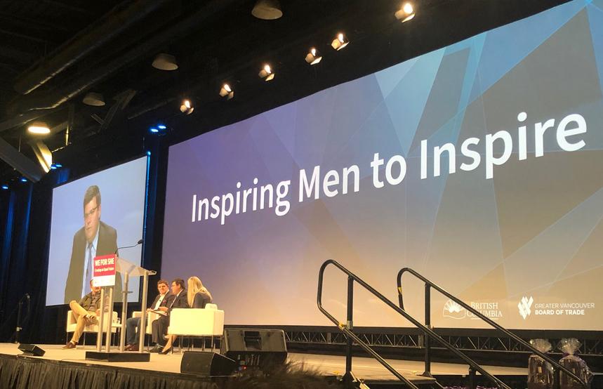 @WeForShe - 'Inspiring Men to Inspire'