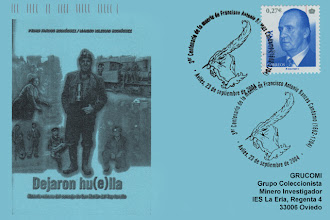 Photo: Matasellos del 3 centenario de la muerte de Francisco Antonio Bances Candamo. Avilés, 2004