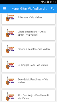 Download kunci gitar via vallen dan lirik apk latest version app for kunci gitar via vallen dan lirik poster reheart Choice Image