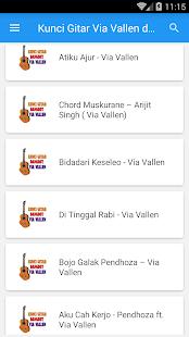 Kunci gitar via vallen dan lirik apps no google play imagem da captura de tela reheart Image collections