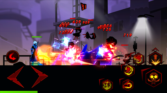 Zombie Avengers:Stickman War Z Screenshot