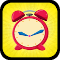 Math Telling Time Clock Game - Clock Learning icon