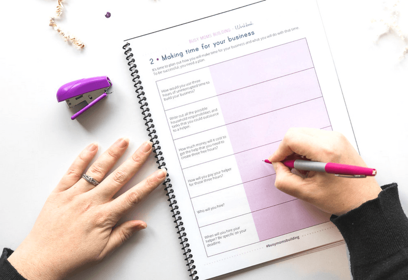 A 16-Page beautiful Pin Practical Promotions Workbook to help you implement all the steps of the course!